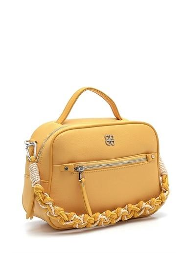 Derimod Kadın Çanta (M2792) Casual Sarı